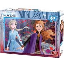 legpuzzel Disney Frozen II junior 99 stukjes