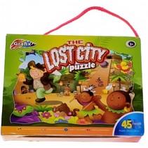 legpuzzel The Lost City junior 45 stukjes