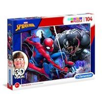 puzzel 3D Vision Spider-man 104 stukjes