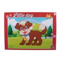 legpuzzel Little Dog in The Parc junior 24 stukjes