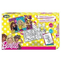 legpuzzel Barbie meisjes karton 24 stukjes