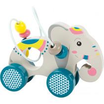 Speelgoed olifant grijs 14 x 8 x 12 cm