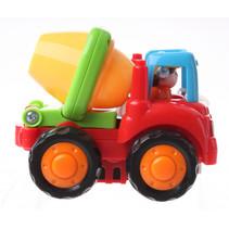 cementwagen junior 10 cm rood/geel