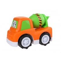 speelgoedauto Cementtruck 24 cm oranje