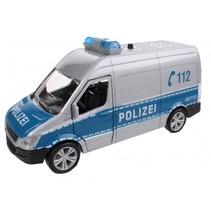 duitse politie bus met licht en geluid 11,5 cm
