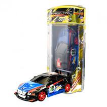 RC auto Gen-4 Chrome 23 cm 1:32 blauw/zwart