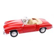 Metalen Mercedes-Benz 190 SL (1955): Rood