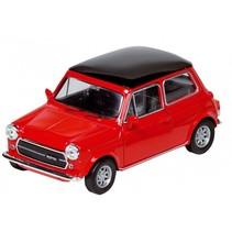 Metalen Mini-Cooper 1300: Rood