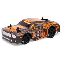 RC auto Mustang 15 cm 1:32 oranje/zwart