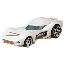 voertuig Star Wars Rey 7 cm diecast wit/goud