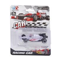 raceauto Formula jongens 8 cm diecast wit
