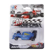 raceauto Formula jongens 8 cm diecast blauw