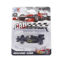 raceauto Formula jongens 8 cm diecast zwart