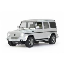 RC Mercedes-Benz G55 AMG jongens 27 MHz 1:24 zilver