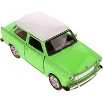 schaalmodel Nex Trabant die-cast 7 cm groen