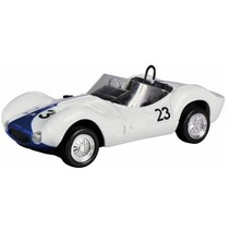 RC Maserati Birdcage wit/blauw 1:24