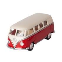 Volkswagen Classic Bus Rood / Wit (1962) 13 cm