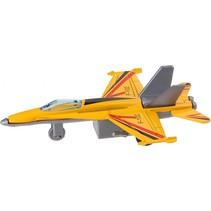 straaljager F-102 10,5 cm geel