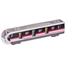 Metalen Metro 18,4 cm Zwart