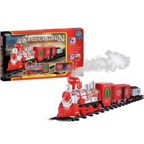 set locomotief met spoor en wagons 14-delig