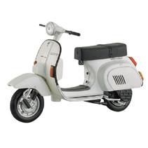 miniatuurscooter Vespa 125 PK Automatica 1:18 wit