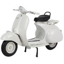 miniatuurscooter Vespa 150 (1956) 1:18 wit