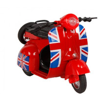 scooter United Kingdom junior 12 cm die-cast rood