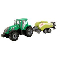 tractor met pakkenpers frictie 42 cm