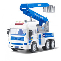 hoogwerker junior 27,5 cm blauw/wit