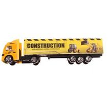 vrachtwagen geel 21 cm