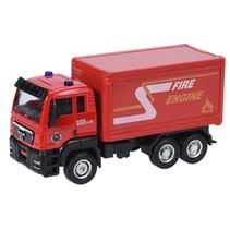 vrachtwagen rood 12 cm