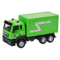 vrachtwagen groen 12 cm