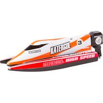raceboot mini 14 x 5 x 3,5 cm junior rood 4-delig