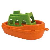 veerboot Anbac junior 16 x 9,5 x 9,5 cm oranje/groen