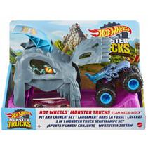 speelset Hot Wheels monstertruck junior 3-delig