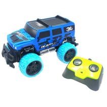 monstertruck Big Wheel Blame 29 x 15 cm blauw 4-delig