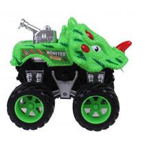 monstertruck dino junior 12 cm groen