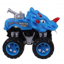 monstertruck dino junior 12 cm blauw