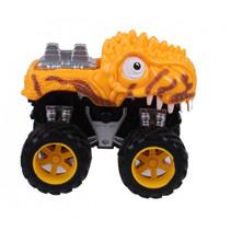 monstertruck dino junior 12 cm geel