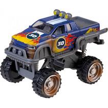 monstertruck Power Team 19 cm die-cast blauw/grijs