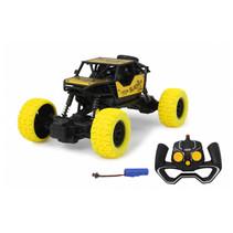 bestuurbare auto RC-Crawler diecast 21 cm geel