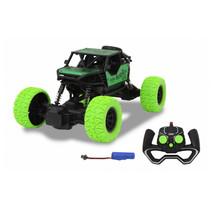 bestuurbare auto RC- Crawler diecast 21 cm zwart/groen