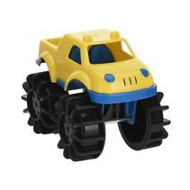 speelgoedauto monstertruck 12 cm geel