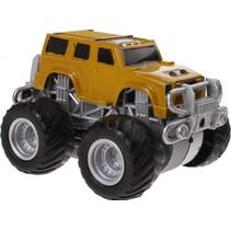 monstertruck Big Foot Drive 8.5 cm geel