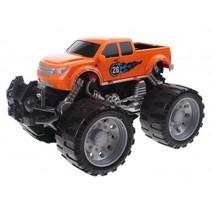 Monstertruck Infinite Power friction 18 cm oranje