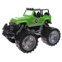 Monstertruck Infinite Power friction 18 cm groen