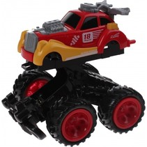 Monstertruck Racing rood