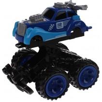 Monstertruck Racing blauw