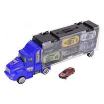 autotransporter blauw 33 cm