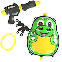 waterpistool met tank 35,5 cm groen/zwart 5-delig